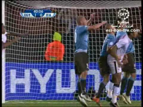 Egypt vs Italy (1 - 0) FIFA Confederations Cup South Africa 2009 Funny commentaire
