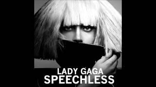 Lady Gaga - Speechless Karaoke / Instrumental with lyrics