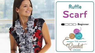 How to Knit a Scarf: Ruffled Scarf
