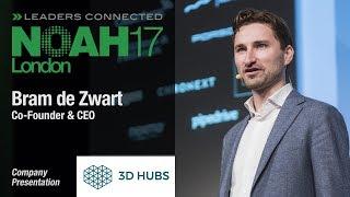 Bram de Zwart, 3D Hubs - NOAH17 London