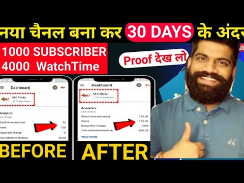 How to Get First 1000 Subscribers On Youtube | 15 Days | 2020 Trick | noelpereirac2
