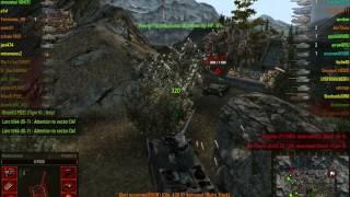 World of Tanks T-54 + Hummel Platoon Sacred Valley Gameplay