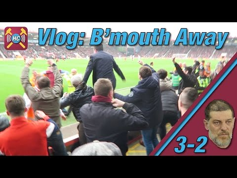 Match Vlog v Bournemouth | West Ham Fans | Highlights