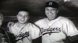 1955 WS Gm7: Dodgers win their first World Series