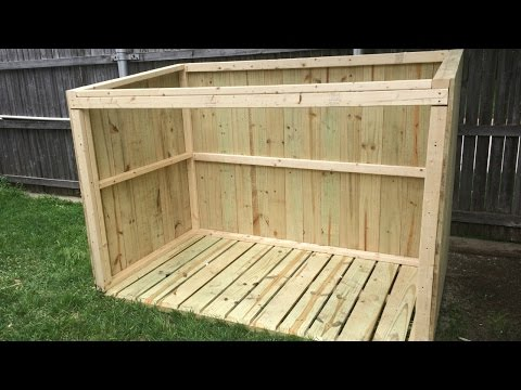 Building a Garbage Can Enclosure - Part 1