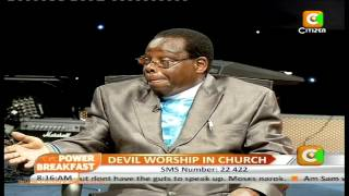 Defrocked PCEA Moderator Dr. David Githii Speaks Out