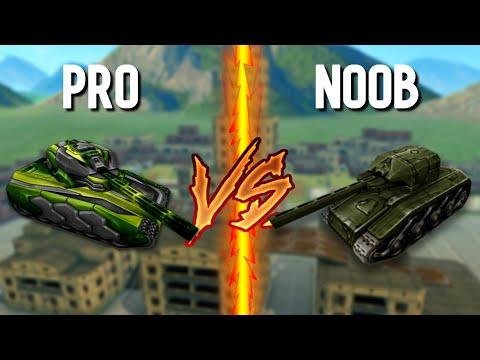 Pro Vs Noob #3 (funny Video) - Tanki Online