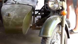 Полноприводный Мотоцикл Днепр мв650(Военный мотоцикл МВ 650 Днепр Стоял 30 лет В гараже(завели), 2013-06-22T16:23:12.000Z)