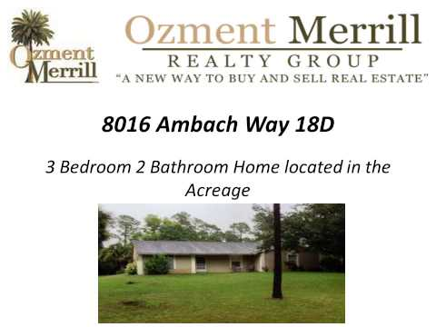 Ozment Merrill Realty Group LLC Real Estate Consultant West Palm Beach