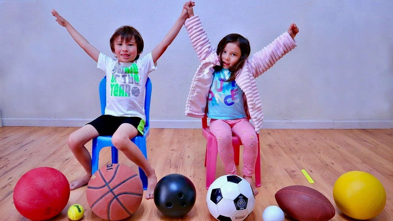 Learn The Names of Sports Ball for Everyone
