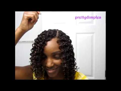 sew in with invisible part - YouTube