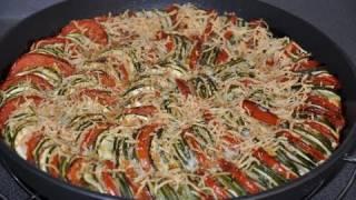 Recette De Flan Provençal Aux Courgettes Et Tomates