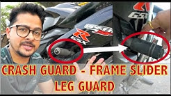 Bike crash guard | Frame Slider | Suzuki Gixxer SF Leg guard