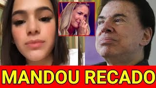 Bruna Marquezine não se segura manda recado ao Silvio Santos após polêmica com Claudia Leitte.