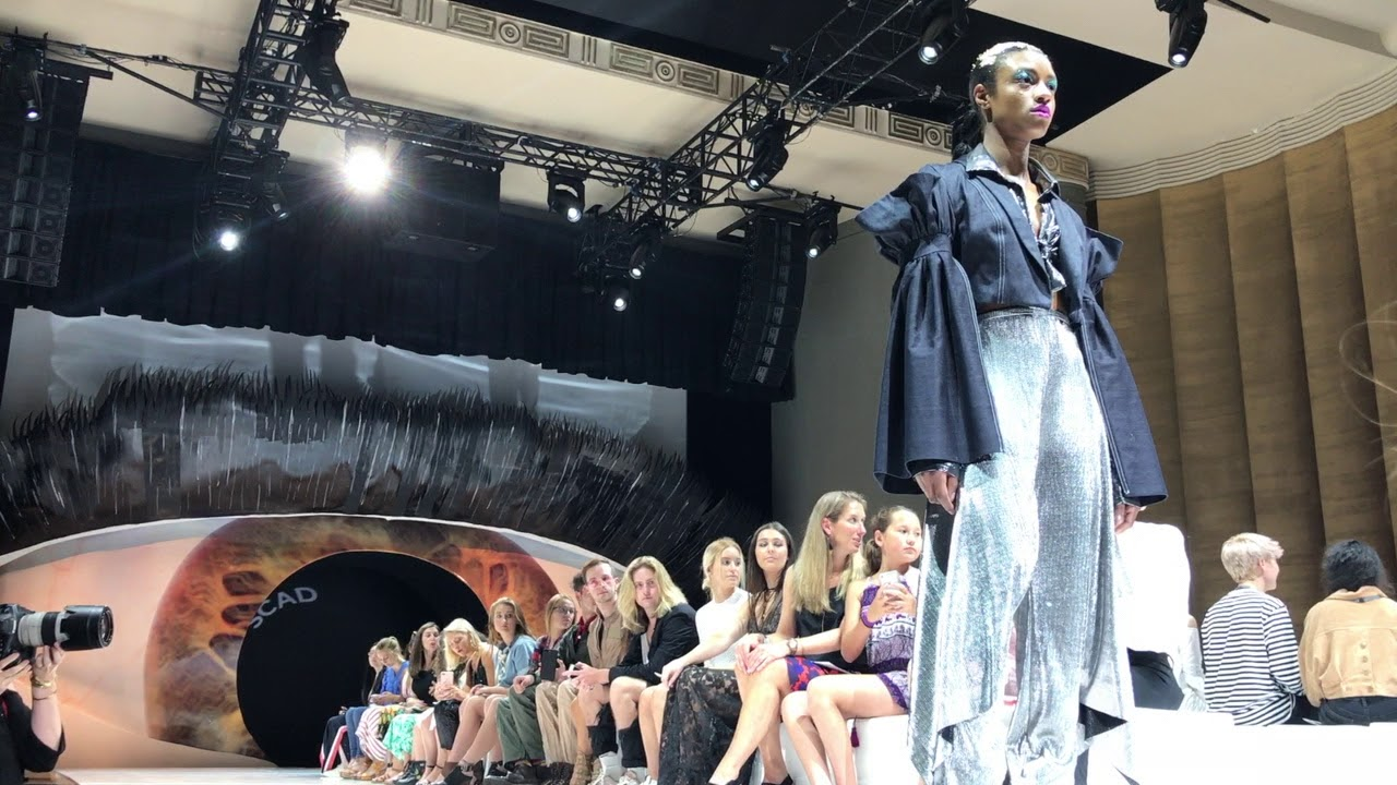 Fashionably Great Montgomery Native S Designs Make The Runway
