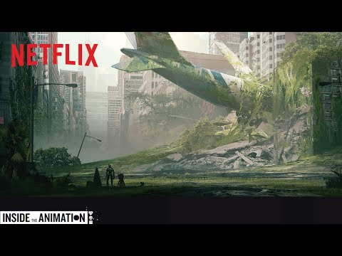 LOVE DEATH + ROBOTS | Inside the Animation: Three Robots | Netflix