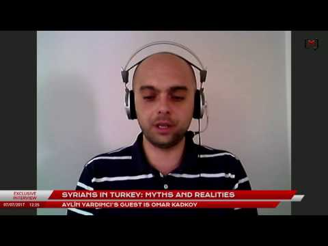 Syrians in Turkey: Myths and realities. Interview with Omar Kadkoy