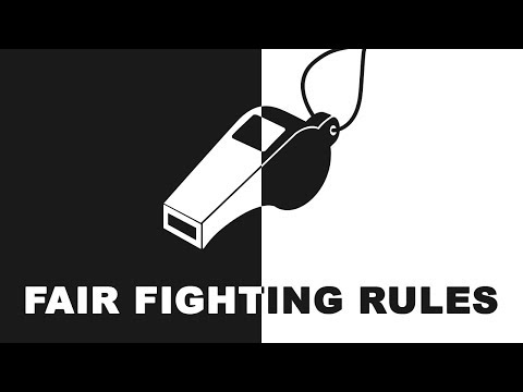 Fair Fighting Rules: How To Argue Safely In A Relationship