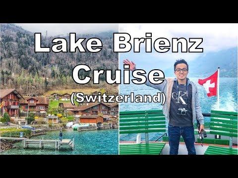 Our AMAZING Lake Brienz Cruise In Switzerland!