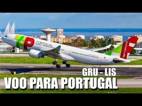VOO TAP DE SÃO PAULO PARA LISBOA