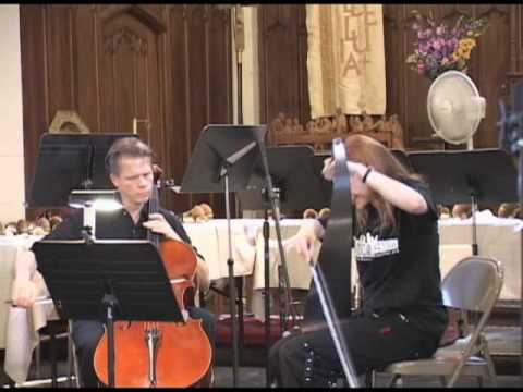 Delicatessen Duo Musical Saw Cello Youtube