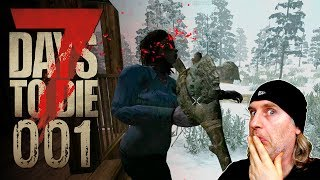 🔨 7 Days to Die [001] [Hitzefrei in der Apokalypse] Let's Play Gameplay Deutsch German thumbnail