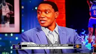 Isaiah Thomas Kevin McHale and Chris Webber say Lavar ball not that bad