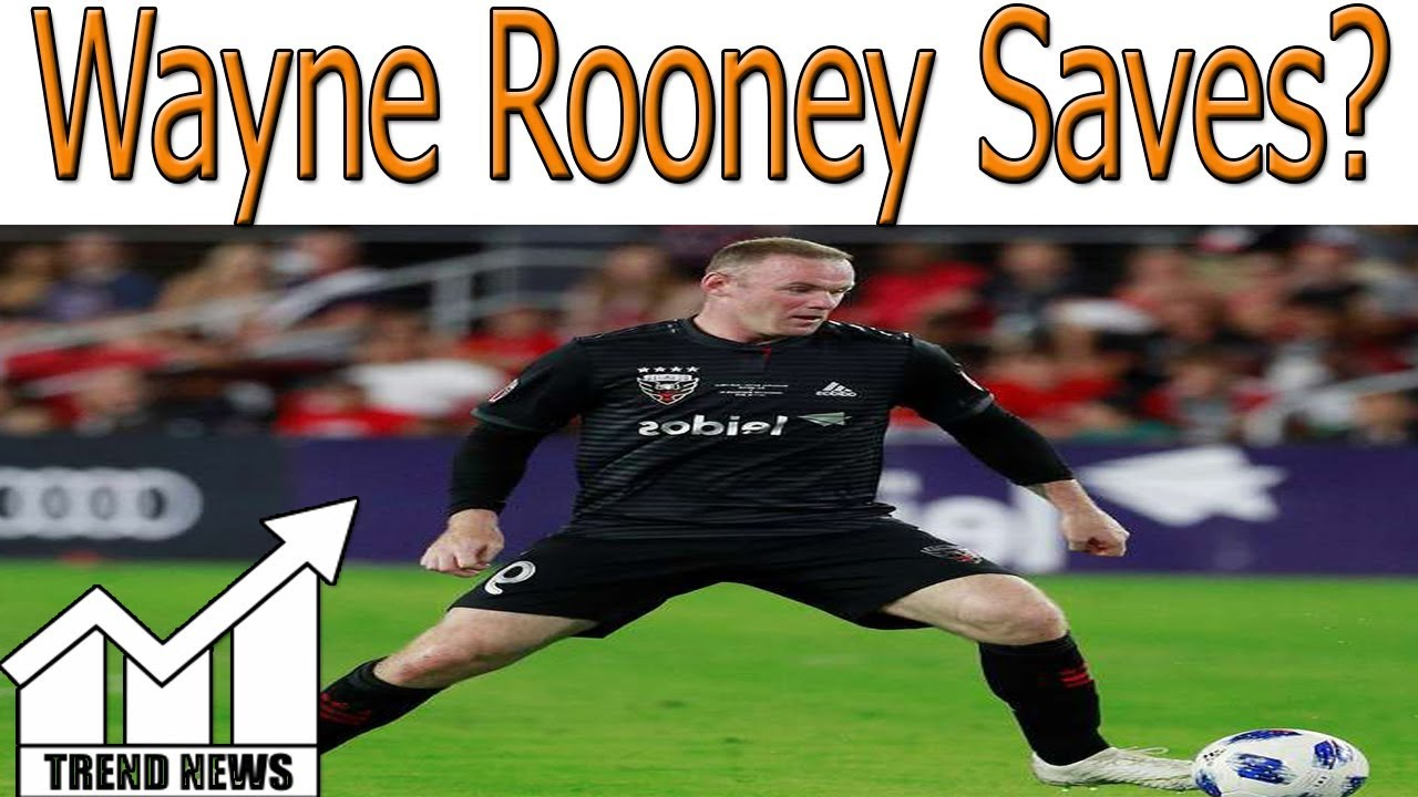0d659889c Wayne Rooney Saves DC United from Open-Net Goal Then Assists Game-Winner