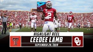 CeeDee Lamb Highlights: Texas Tech vs. No. 6 Oklahoma (2019) | Stadium