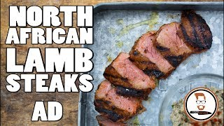 North African Lamb Steaks   |   with TalkBeckyTalk