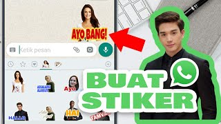 Download Video Cara Buat Stiker WhatsApp Wajah Kita Sendiri MP3 3GP MP4