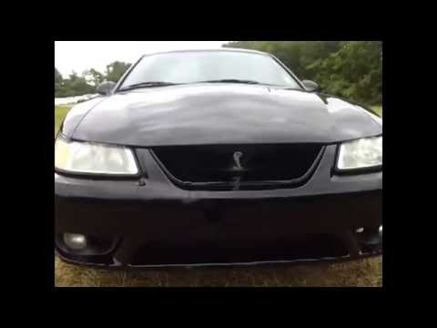 sold.1999 SVT COBRA MUSTANG ONE OWNER 86K 5SPD SOUTHERN CAR FOR SALE CALL 888-439-8045