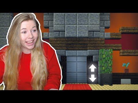 Echter Aufzug in Minecraft! ✔