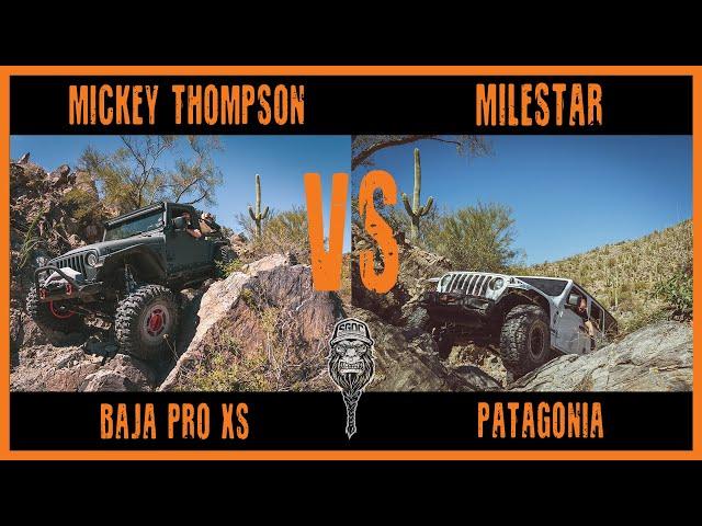 The QJO Initiative: Mickey Thompson Baja Pro XS VS. Milestar Patagonia Tire Comparison (Part 1)