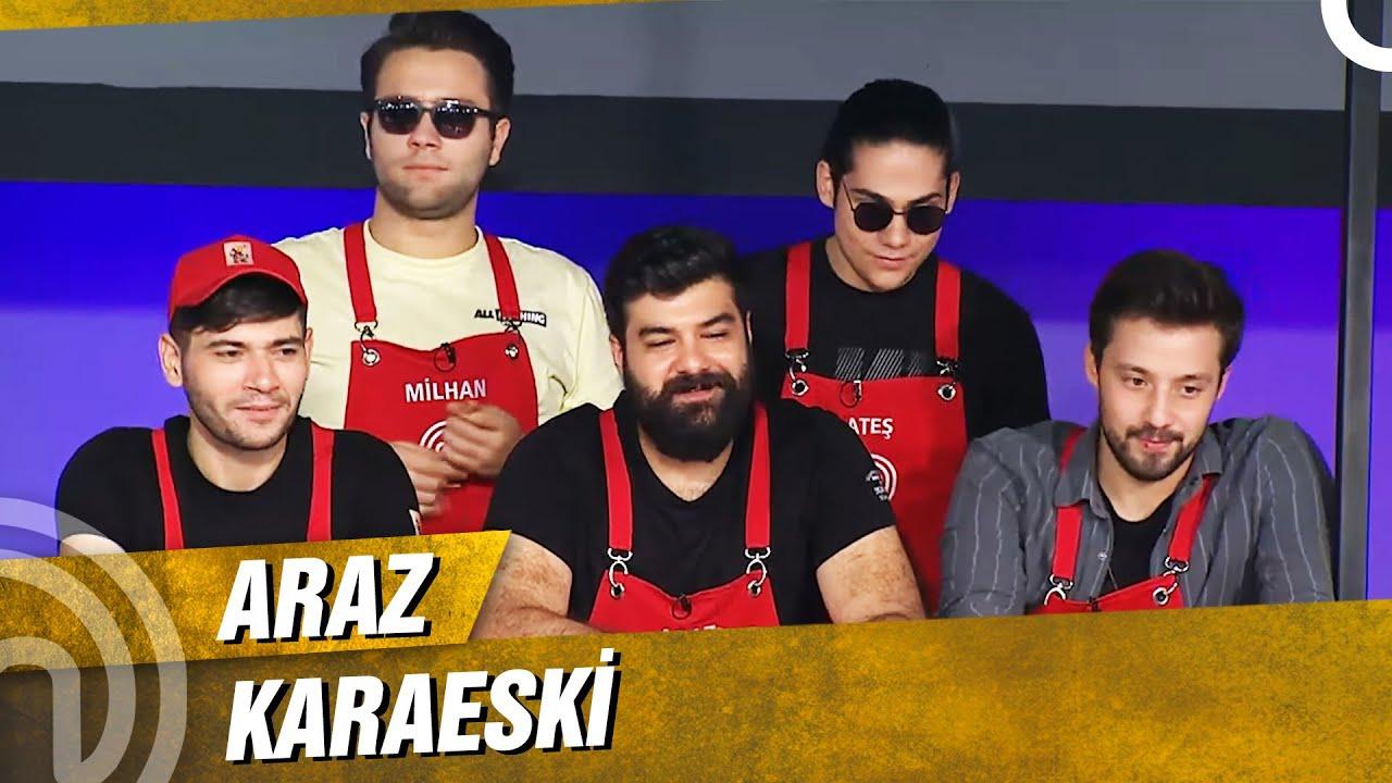 Araz MasterChef'in Dayısı Oldu   MasterChef Türkiye 90. Bölüm