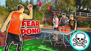 FEAR PONG BASKETBALL CHALLENGE