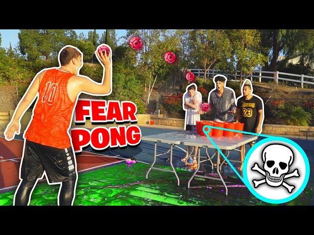 FEAR PONG BASKETBALL CHALLENGE