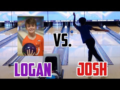 Logan vs. Josh Collins | Youth Bowling H2H