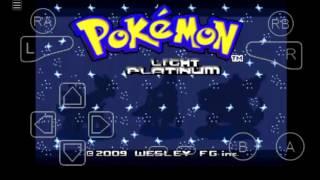 Código Máster ball de pokemon light platinum