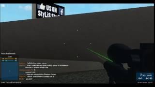 ROBLOX Phantom Forces || No-scope Technique