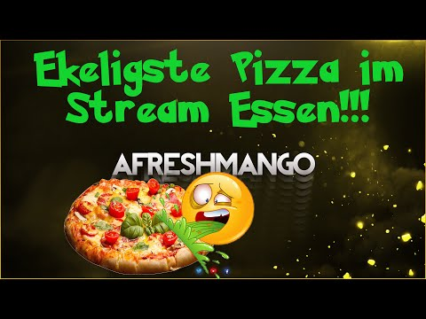 Ekeligste Pizza EVER ! | Twitch Stream | aFreshMango