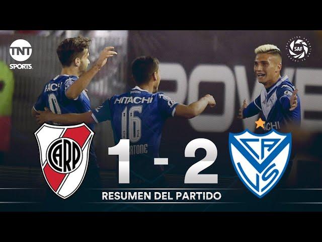 Resumen de River Plate vs Vélez Sarsfield (1-2)   Fecha 7 - Superliga Argentina 2019/2020