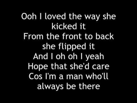Craig David - Seven Days - Lyrics on screen