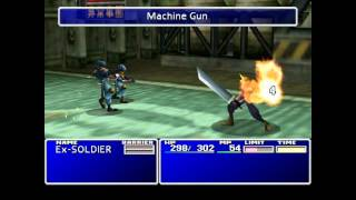 Final Fantasy VII Gameplay (PC/HD)