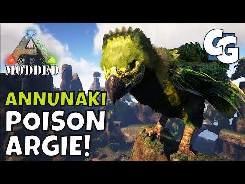 Modded ARK: Annunaki Genesis - B.A. Poison Argentavis! - S1E12 - Single Player Gameplay