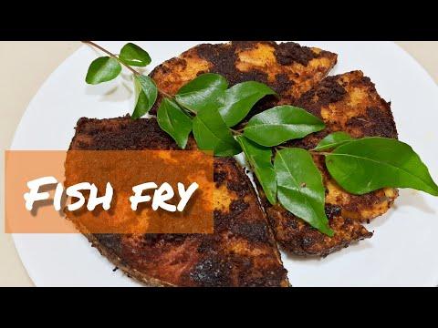 Fish Fry/king Fish Fry Recipe/tasty Masala Fish Fry Recipe