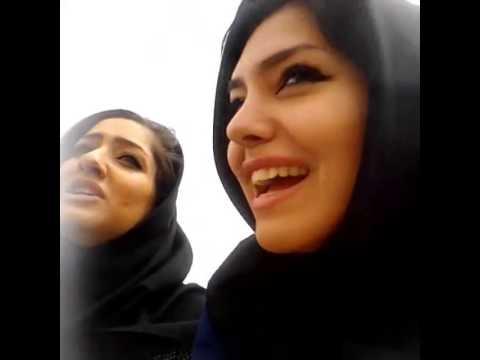 Iranian girls making fun - Dokhatarne irani bahal ba sibil
