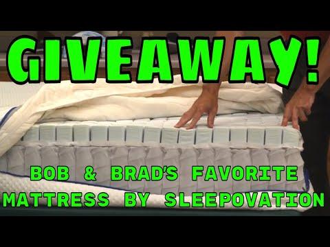 GIVEAWAY! Bob & Brads Favorite Mattress By SleepOvation