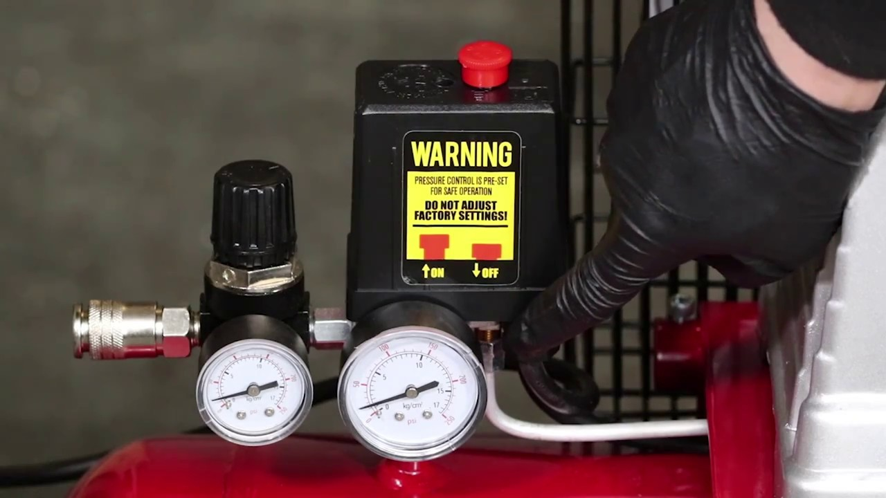 Air Leaking Under Pressure Switch Air Compressor Check Valves One Way Non Return Youtube