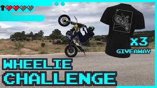 Almost looped my bike! Wheelie Practice & GIVEAWAY - ATH BIKELIFE